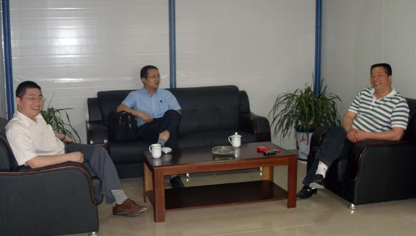 山东办事处主任唐炜代表办事处详细介绍了公司在山东