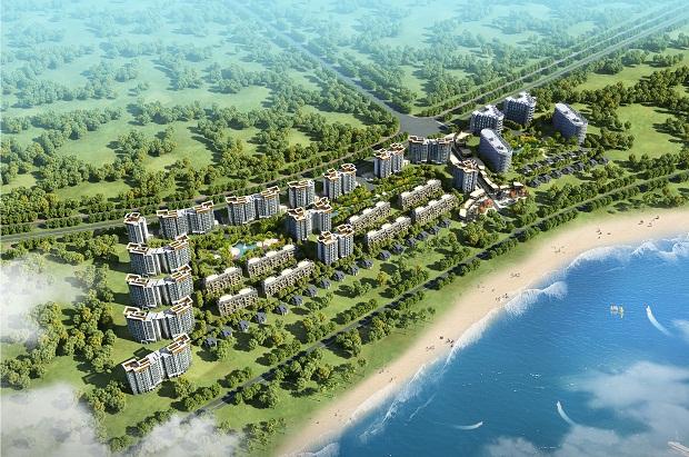 公司中标恒大万宁双海湾项目首期主体及配套工程